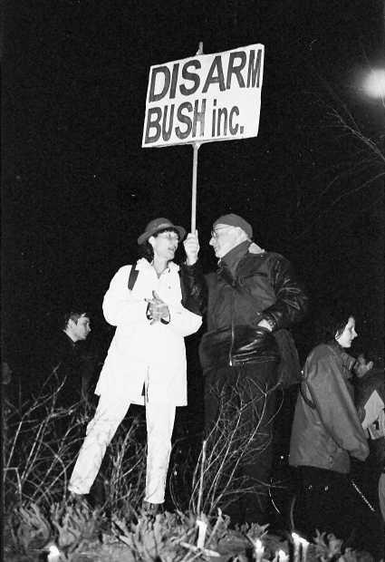 Disarm Bush