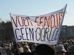 Vredesdemo 22/3 | Foto's: www.vandervlies.com