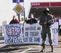 Actie tegen Esso: boycott Esso