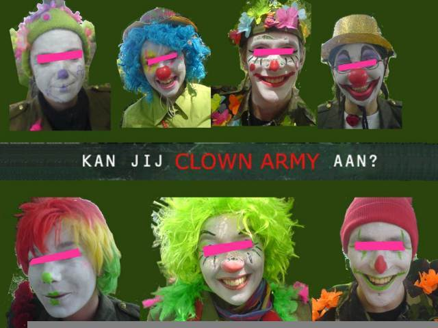Clown Army 4U