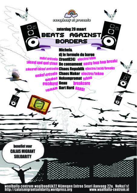 beats against borders