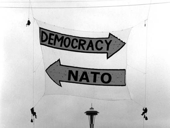 Nato in - Democracy out