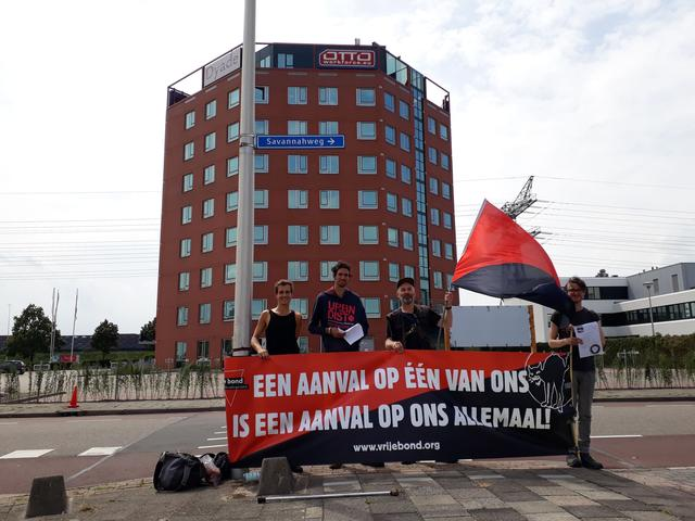 Picket OTTO Workforce in Utrecht