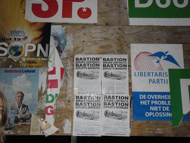 Actie tegen uitbuiting door Bastion Hotels