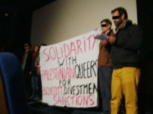 Solidarity with Palestinian Queers for Boycott, Divestment and Sanctions