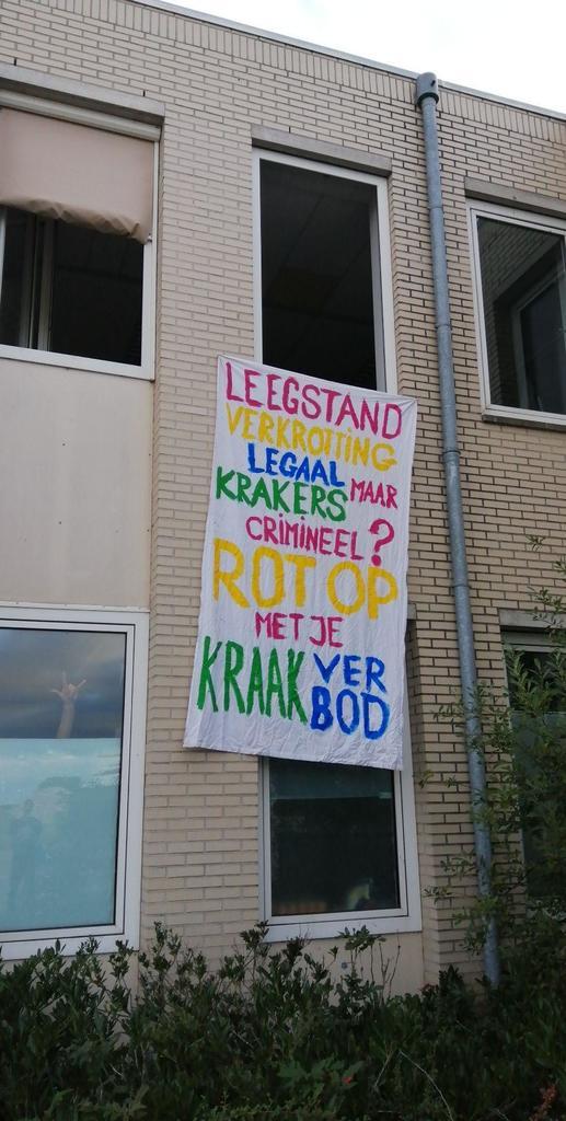 Utrecht kraakt tijdens landelijke actiedag - politie gaat over tot onrechtmatige ontruiming