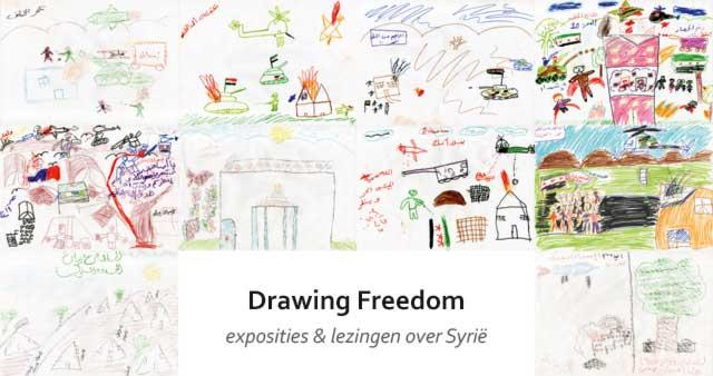 Drawing Freedom; exposities & lezingen over Syrië